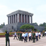 Thủ tướng kiểm tra việc tu bổ Lăng Chủ tịch Hồ Chí Minh