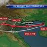 Bão số 4 di chuyển nhanh hướng về đất liền Việt Nam