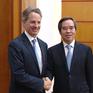 Đồng chí Nguyễn Văn Bình tiếp Đại sứ môi trường Australia và Quỹ đầu tư Mỹ