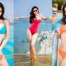 Top 3 Hoa hậu Việt Nam 2016 diện bikini nóng bỏng bên bể bơi vô cực dát vàng