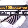 Mất trộm hơn 100 nắp cống thoát nước trên tuyến Hạ Long - Hải Phòng