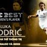 [INFOGRAPHIC] Luka Modric - người phá thế thống trị của Ronaldo và Messi