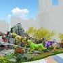 Nỗ lực hoàn thành các hạng mục phục vụ đường hoa Nguyễn Huệ