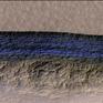 Phát hiện dải băng bên dưới bề mặt sao Hỏa
