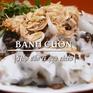 Bánh cuốn Nam Định: Hấp dẫn vị quà chiều