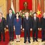 Tổng Bí thư, Chủ tịch nước nhận Quốc thư của các Đại sứ