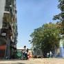 Tiếp tục di dời người dân khỏi chung cư nghiêng 45cm ở TP.HCM