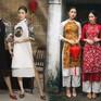 Những kiểu áo dài dành cho phái đẹp đón Tết