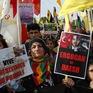 Tuần hành trên khắp châu Âu phản đối Thổ Nhĩ Kỳ tấn công Syria