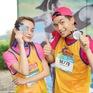 """Vừa trở về từ LHP Busan, Quốc Anh bị """"chị đẹp"""" Mlee rủ rê chạy marathon"""