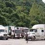 Ùn ứ hơn 500 xe nông sản ở cửa khẩu Tân Thanh