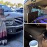 Người phụ nữ sống trong xe tải cùng... hơn 300 con chuột