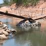 Khánh Hòa: Hàng nghìn người dân bị cô lập vì cầu sập