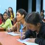 Hiệu quả lớp học xóa mù chữ tại vùng giáp ranh