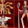 """Cận cảnh trang phục truyền thống """"khủng"""" của Hoàng Thùy tại Miss Universe 2019"""