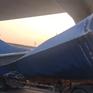 Vụ xe container kéo sập dầm cầu bộ hành: Chiều cao cầu không đạt như thiết kế