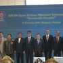 ASEAN tăng cường hợp tác quốc phòng với Nhật Bản và Mỹ