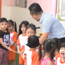 Thầy giáo gần 15 năm dạy trẻ mầm non ở TP.HCM