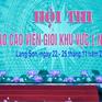 Hội thi báo cáo viên giỏi khu vực I tại Lạng Sơn