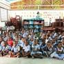 Xây dựng trường học từ rác thải nhựa