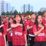 Đồng ca hơn 5.000 người lập kỷ lục cổ vũ đội tuyển bóng đá Việt Nam
