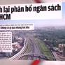 TP.HCM kiến nghị tăng mức ngân sách được giữ lại