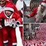 Ông già Noel chạy bộ gây quỹ từ thiện