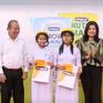 Trao tặng hơn 13.000 hộp sữa cho học sinh ở Long An