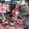 Giá tăng liên tục, lượng thịt lợn tiêu thụ giảm
