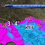 Cảnh báo giá rét ở miền Bắc, có nơi xuất hiện băng giá, sương muối