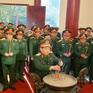 Đoàn công tác của Bộ Quốc phòng hành quân về nguồn