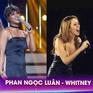 Gương mặt thân quen: Hóa thân thành Whitney Houston, Phan Ngọc Luân xuất sắc giành giải nhất tuần