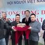 Hội người Việt tỉnh Odessa, Ukraine đấu giá bánh chưng gây quỹ từ thiện