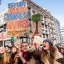 Học sinh và sinh viên Bỉ tham gia tuần hành vì vấn đề khí hậu