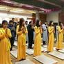 Lễ cầu an đầu năm tại chùa Pháp Vương, Hàn Quốc