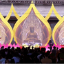 Đông đảo tăng ni, Phật tử và người dân tham dự Lễ hội Xuân Tam Chúc