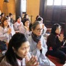 Cộng đồng người Việt tại Ukraine cầu bình an tại chùa Trúc Lâm Kharkov