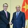 Thủ tướng Nguyễn Xuân Phúc tiếp Tổng Giám đốc Ngân hàng MUFG (Nhật Bản)