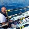 Phá kỷ lục chèo thuyền xuyên Đại Tây Dương