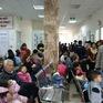 Xét nghiệm hết công suất trong ngày, gần 1.000 trẻ nghi nhiễm sán lợn đến khám