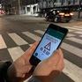 Đèn đường chống tai nạn cho người nghiện điện thoại tại Hàn Quốc