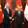 Củng cố và phát triển quan hệ giữa hai nước Việt Nam - Singapore