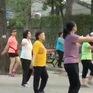 Buổi sáng nhộn nhịp tại Công viên Tao Đàn