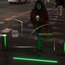 """Đèn giao thông """"Zombie"""" trên mặt đường"""