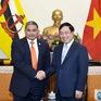 Phó Thủ tướng Phạm Bình Minh tiếp Bộ trưởng Ngoại giao Brunei