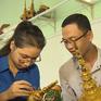 Thanh niên Khmer gìn giữ nghệ thuật truyền thống