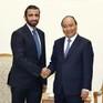 Thủ tướng Nguyễn Xuân Phúc tiếp Tổng giám đốc Tập đoàn Đầu tư Dubai (UAE)