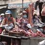 Lượng lợn về chợ đầu mối sụt giảm kỷ lục