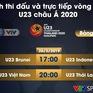 Lịch thi đấu và trực tiếp vòng loại U23 châu Á 2020 ngày 26/3: U23 Việt Nam - U23 Thái Lan, U23 Indonesia - U23 Brunei