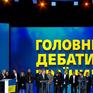"""Bầu cử Tổng thống Ukraine: 2 ứng cử viên """"so găng"""" trực tiếp, dành nhiều thời gian chỉ trích lẫn nhau"""